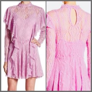 🌙 Free People Bring It Home Wisteria Lace Dress🌙
